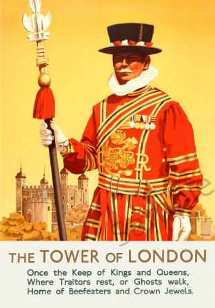 The tower of London Beefeater
